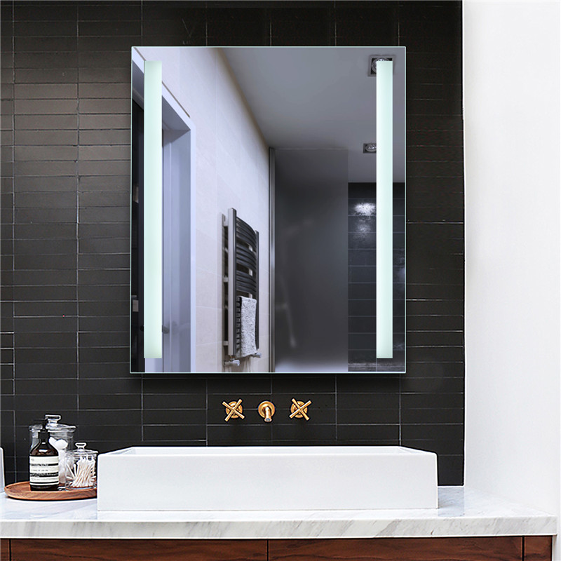 Khách sạn Light Up Rectangulary Illustrated LED Wall Mirror Bathroom